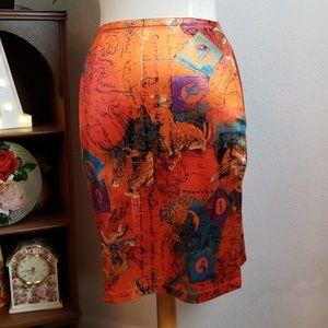 Moa Moa Side Slit Astrology Skirt